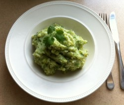 Romige broccolipuree met dille